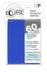 60ct PRO-Matte Eclipse Small Deck Protector sleeves - Pacific Blue