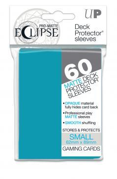 60ct PRO-Matte Eclipse Small Deck Protector sleeves - Sky Blue