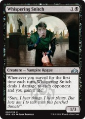 Whispering Snitch - Foil