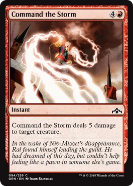 Command the Storm - Foil