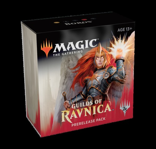 Guilds of Ravnica Prerelease Kit - Boros