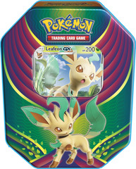 2018 Evolution Celebration Tins - Leafeon GX