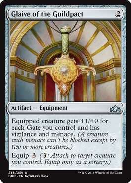 Glaive of the Guildpact - Foil