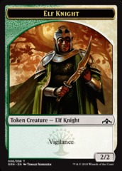 Elf Knight Token