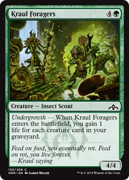 Kraul Foragers - Foil