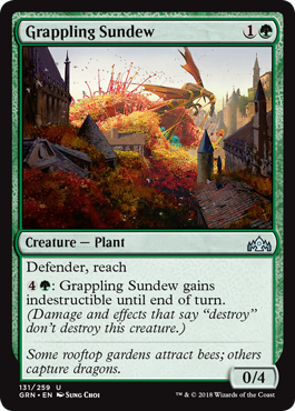 Grappling Sundew - Foil