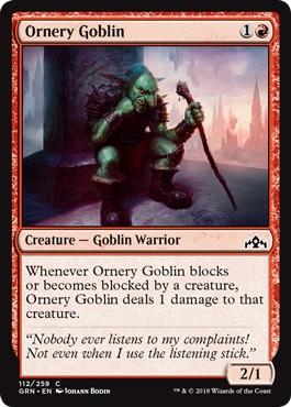 Ornery Goblin - Foil