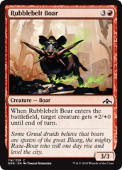 Rubblebelt Boar - Foil