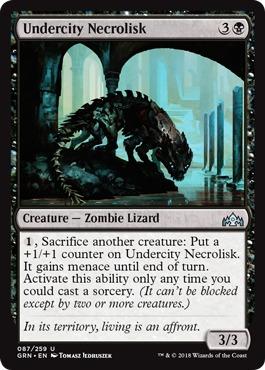 Undercity Necrolisk - Foil