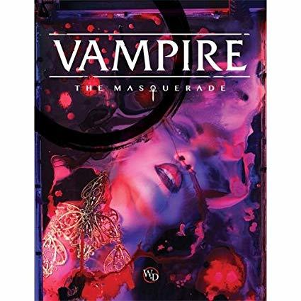 Vampire: The Masquerade 5e - Core Rulebook Hardback