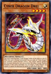 Cyber Dragon Drei - LED3-EN020 - Common - 1st Edition