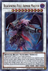 Blackwing Full-Armor Master - LED3-EN023 - Ultra Rare - 1st Edition