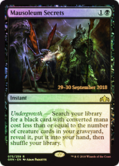 Mausoleum Secrets (Guilds of Ravnica Prerelease Foil)