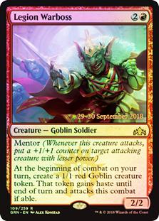 Legion Warboss (GRN Prerelease Foil)