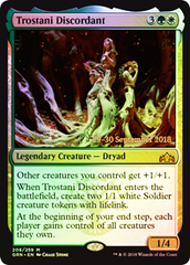 Trostani Discordant - GRN Prerelease - Foil