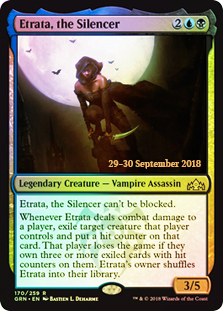 Etrata, the Silencer - Foil - Prerelease Promo