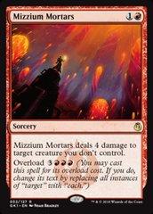 Mizzium Mortars on Channel Fireball