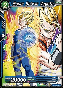 Super Saiyan Vegeta Bt5 035 C Foil Dragon Ball Super Singles