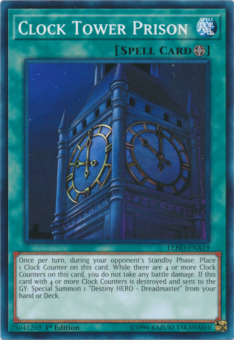 Clock Tower Prison - LEHD-ENA19 - Common - 1st Edition