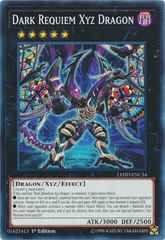 Dark Requiem Xyz Dragon - LEHD-ENC34 - Common - 1st Edition