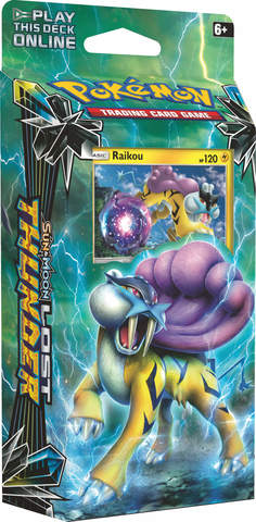 Sun & Moon - Lost Thunder - Raikou Theme Deck