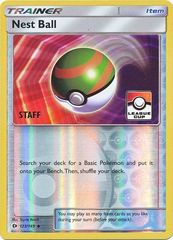 Nest Ball - 123/149 - Staff League Promo - Reverse Holo