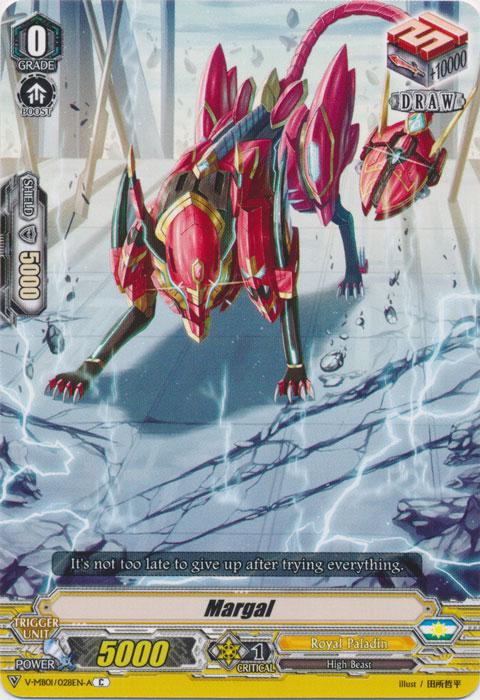 Margal - V-MB01/028EN-A - C - Foil