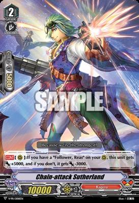 Chain-attack Sutherland - V-PR/0018EN - PR