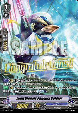 Light Signals Penguin Soldier - V-PR/0024EN - PR