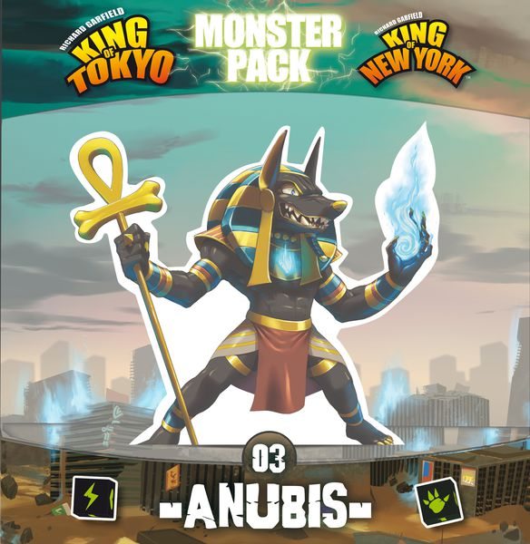 King of Tokyo - Monster Pack: Anubis