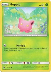 Hoppip  - 11/214 - Common on Channel Fireball