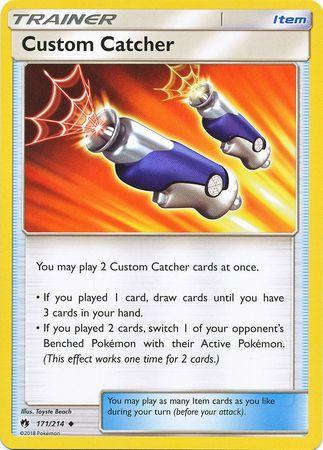 Custom Catcher - 171/214 - Uncommon