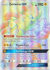 Zeraora GX - 221/214 - Secret Rare