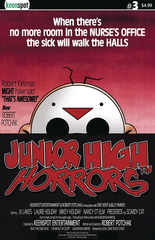 Junior High Horrors #3 Cvr B Dawn Of The Dead Parody (STL104521)