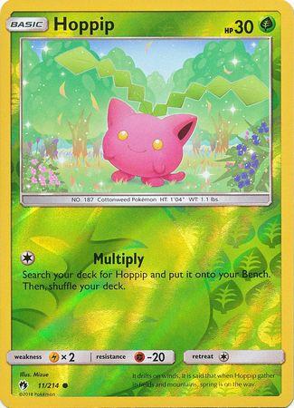 Hoppip  - 11/214 - Common - Reverse Holo