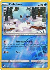 Cubchoo - 61/214 - Common - Reverse Holo