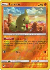 Larvitar - 114/214 - Common - Reverse Holo