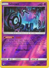 Unown - 91/214 - Rare - Reverse Holo