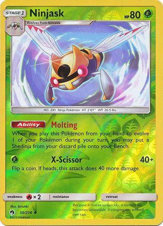 58//214 Reverse Holo NM-Mint Lost Thunder Pokemon Mantine Uncommon