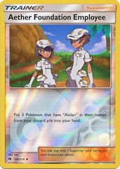 Aether Foundation Employee - 168/214 - Uncommon - Reverse Holo
