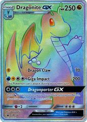 Dragonite GX - SM156 - Secret Rare Promo