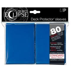 Ultra Pro Sleeves: Standard Eclipse Matte Blue (Pack of 80)
