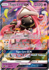 Tapu Lele GX - 60a/145 - Alt Art Holo Promo - SM Black Star Promo on Channel Fireball
