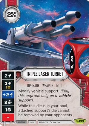 New Star Wars Destiny Umbaran Hover Tank W// Premium Die