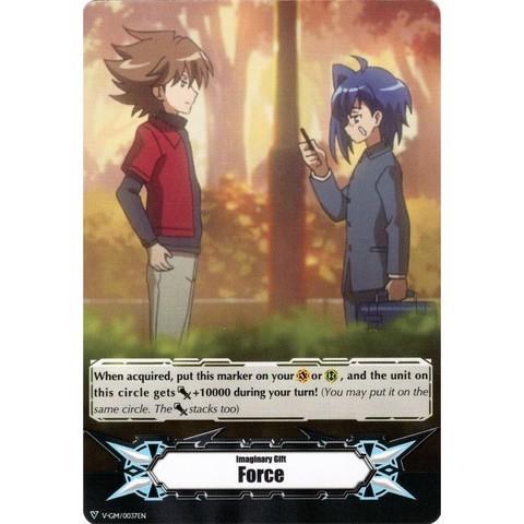 ▽ Imaginary Gift Marker - V-GM/0037EN [Force] Toshiki Kai & Aichi Sendou [V-MB01]
