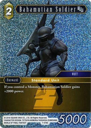 Bahamutian Soldier - 7-078C - Foil