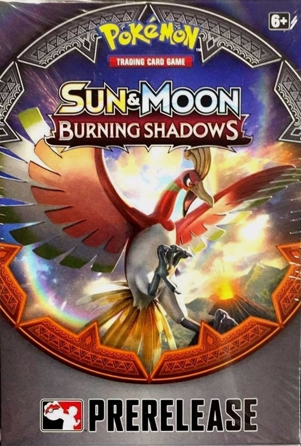 Sun & Moon - Burning Shadows Prerelease Kit
