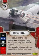 Dorsal Turret (Sold w/ Matching Die)