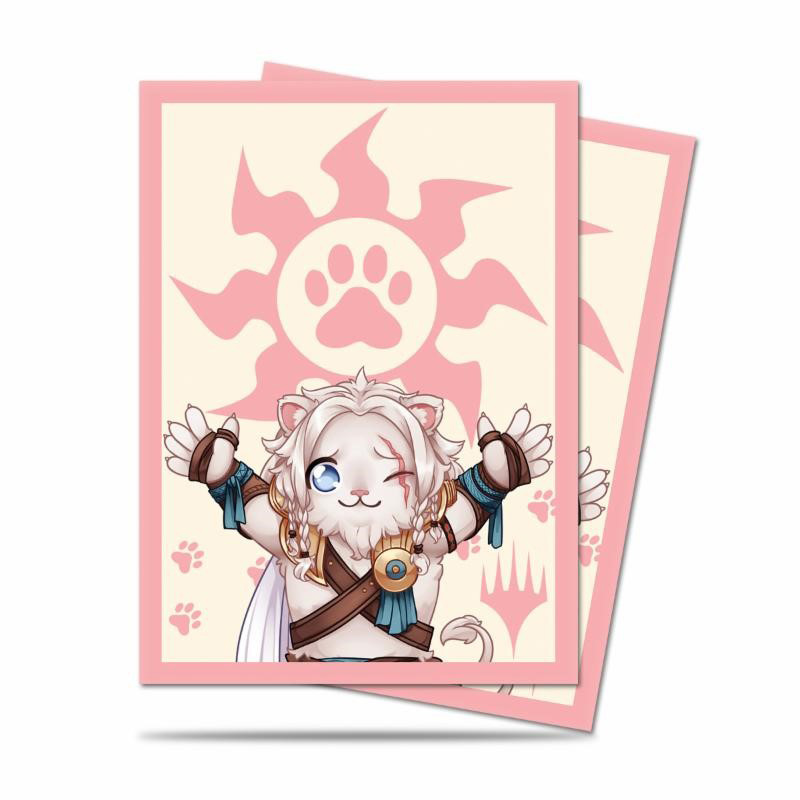 Ultra PRO - MTG Chibi Collection:Ajani Lion Hug Sleeves