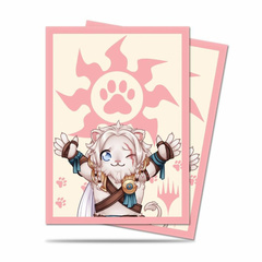 Ultra PRO - MTG Chibi Collection - Ajani Lion Hug Sleeves